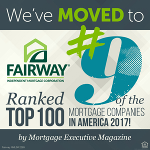 Ranked #9 of Top Mortgage Companies in America